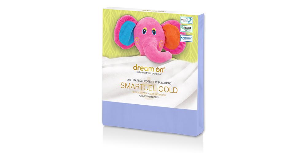 Протектор за матрак SMARTCEL GOLD Baby Blue